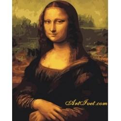 Картина по номера -МОНА ЛИЗА