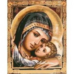 Картина по номера - ОБРАЗЪТ НА БОЖИЯТА МАЙКА