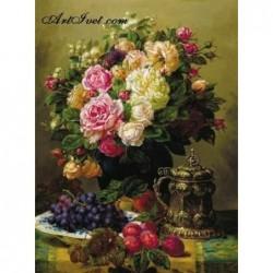 Картина по номера -С вкус на грозде и мирис на рози