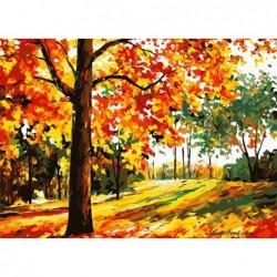 Картина по номера - Цветовете на есента