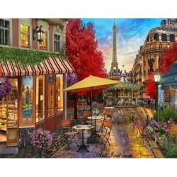Картина по номера - Кафене в Париж