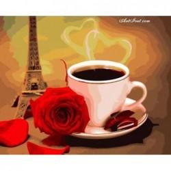 Картина по номера -Кафе с парижки аромат