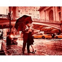 Картина по номера -Целувка за раздяла