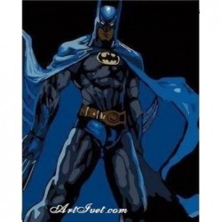 Картина по номера -Батман