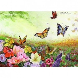 Картина по номера -Благословена пролет