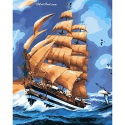 Картина по номера -Борба с вълните