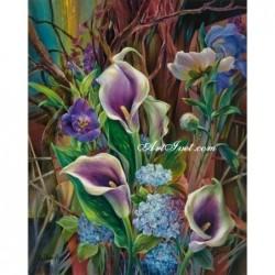 Картина за рисуване по номера - Най-красивите цветя