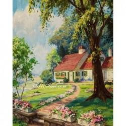 Картина за рисуване по номера - Нашата къщичка