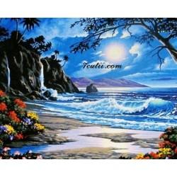 Картина за рисуване по номера - На италианския бряг