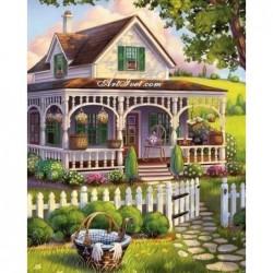 Картина по номера - Лятната вила на съседите