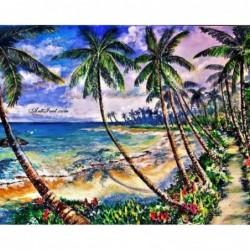 Картина по номера - Кокосови палми