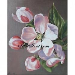 Картина по номера - Ябълков цвят