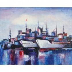 Картина по номера - На пристанището
