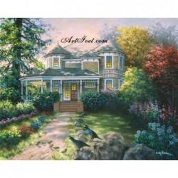 Картина по номера - Къща във викториански стил