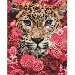 Картина по номера -Тигър в храсталака