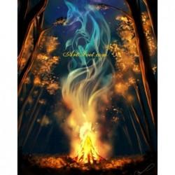 Картина по номера - Самодивски огън