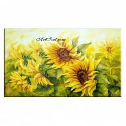 Картина по номера - Гора от слънчогледи