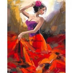 Картина по номера -Фламенко