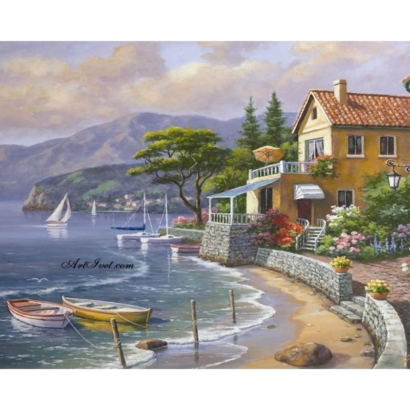 Картина по номера -Италианско лято