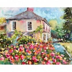 Картина по номера - Къщата на ъгъла
