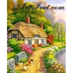 Картина по номера - Къща в края на гората