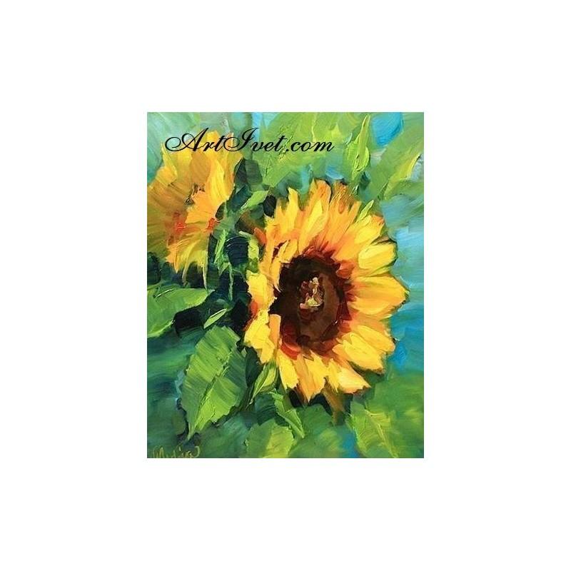 Картина по номера - Летен слънчев дар
