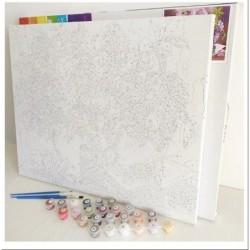 Картина по номера - Букет с много малки слънца