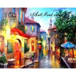 Картина по номера - Летен дъждовен следобед