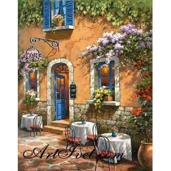 Картина по номера - На ресторант във Флоренция