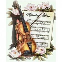 Картина по номера - За душата на музиканта