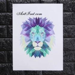 Картина по номера - Лъв