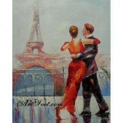 Картина по номера - Нашият танц в Париж