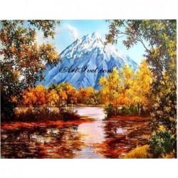 Картина по номера -Щом дойде есента