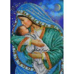 Картина по номера - Бебе-дар от Бога