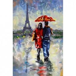 Картина по номера -Парижки вечери