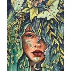 Картина по номера - Красотата на горската фея
