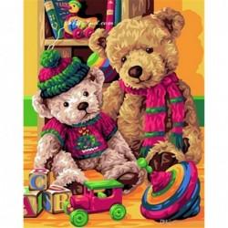 Картина по номера - Моите мечета Теди и Пешо