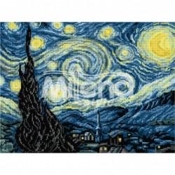 Гоблен със схема - Звездна нощ