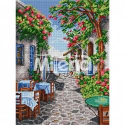 ГоблеГоблен щампа - Уличка в Гърция   ARIADNA