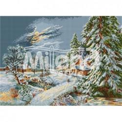 Гоблен щампа - Лунна зима -...