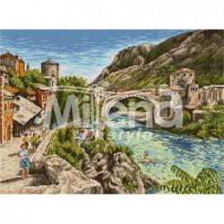 Гоблен щампа – Мостар -...