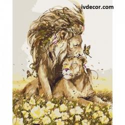 Картина по номера - Лъвска...
