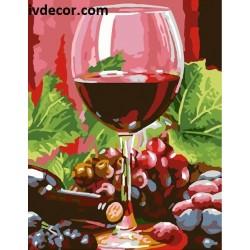 Картина по номера - Ароматно вино