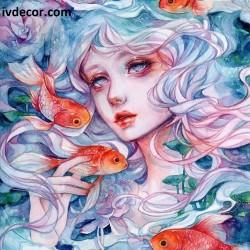 Рисуване по номера - Зодия Риби