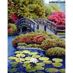 Рисуване по номера - Японското мостче