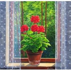 Рисуване по номера - Мушкатото край прозореца