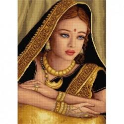 Гоблен - Индийска девойка DMC