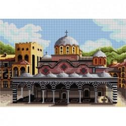 Гоблен със схема  - Рилски манастир   ARIADNA