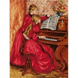 Урок по пиано