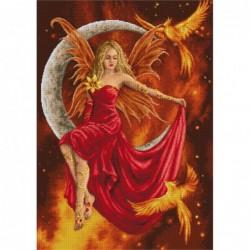 Гоблен със схема  - Огнена фея